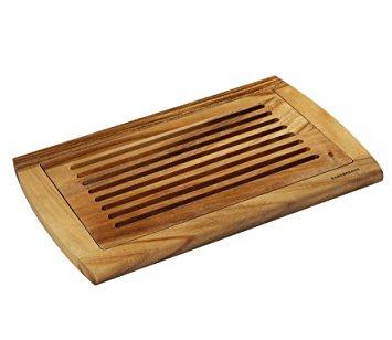 Zassenhaus Tagliere pane, in legno di acacia, 42 x 28 x 2 cm