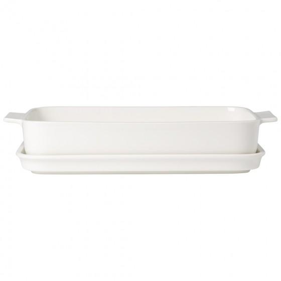 villeroy-boch-Clever-Cooking-Teglia-con-coperchio,-rettangolare-30x20cm-30