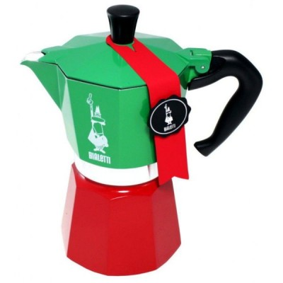 BIALETTI-Moka-Express-Tricolore-Limited-Edition-Italia-Coffee-Maker-Italy-