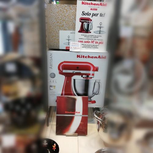 KitchenAid Artisan rosso imperiale Alessi