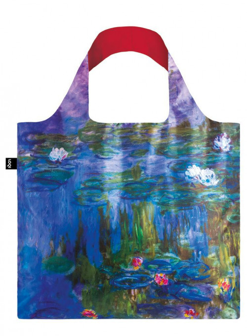 LOQI-Claude-Monet-borsa-spesa-Collection-Museum-contenitore-incluso