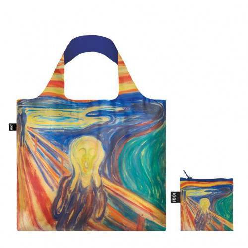 LOQI-Edvard-Munch-borsa-spesa-Collection-Museum-contenitore-incluso