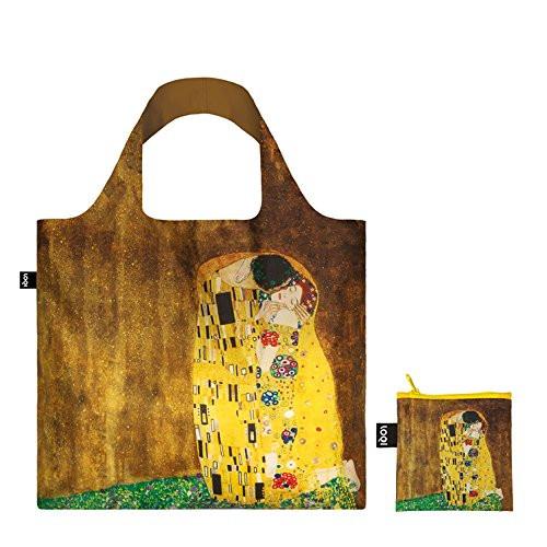 LOQI-Gustav-Klimt-borsa-spesa-Collection-Museum-contenitore-incluso