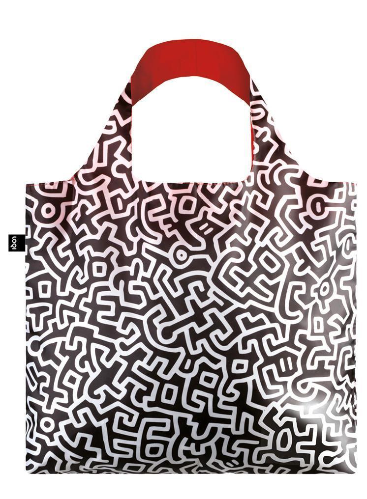 LOQI-Keith-Haring-borsa-spesa-Collection-Museum-contenitore-incluso