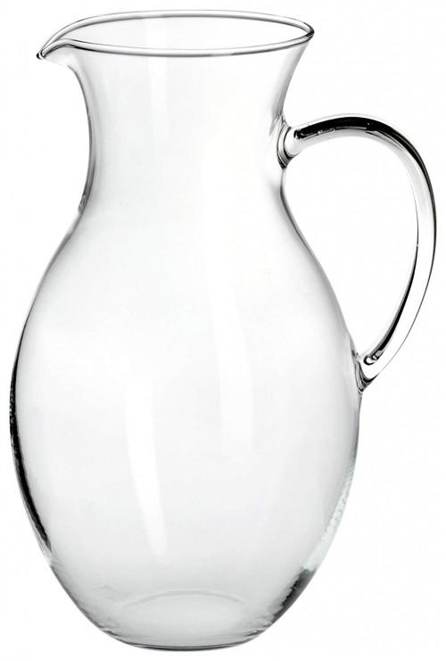 Brocca in vetro borosilicato classica Fade