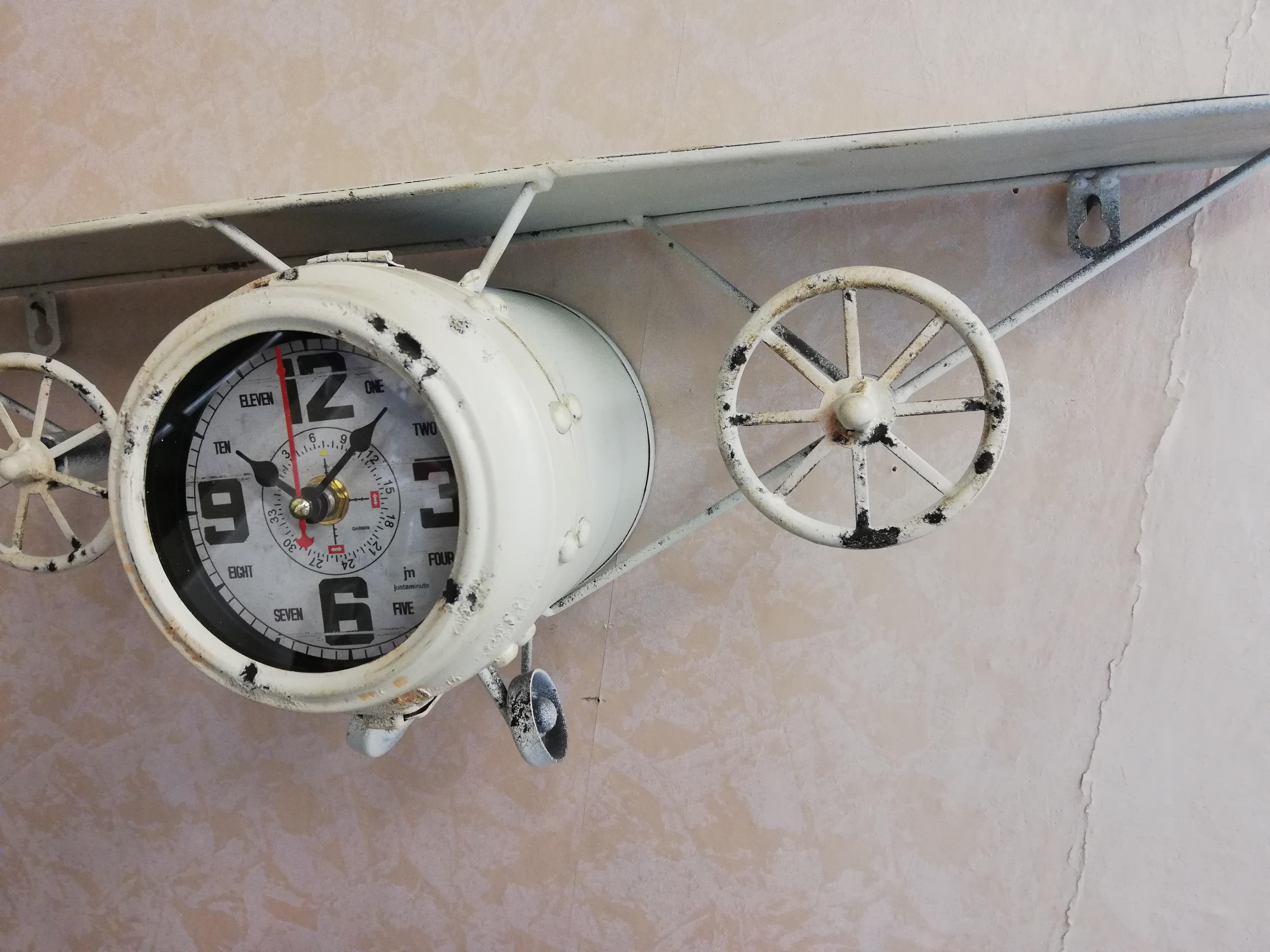 Mensole Da Parete Cucina lowell orologio da parete aereo con mensola